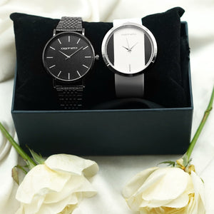Luke & Laura Couple Watches