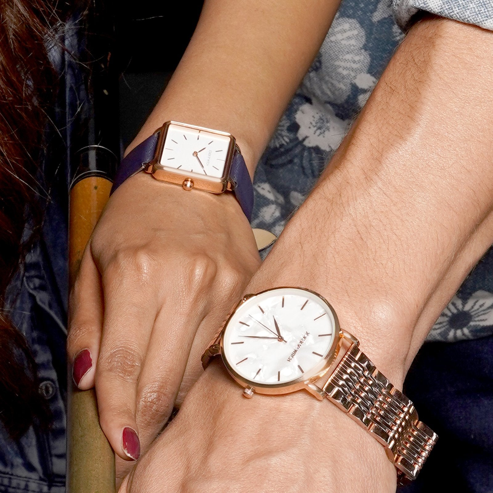 Cam & Mitch Couple Watches