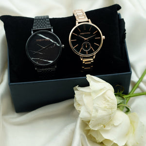 Gilbert & Anne Couple Watches