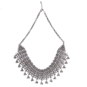 Teejh Alvira Antique Silver Polish Necklace