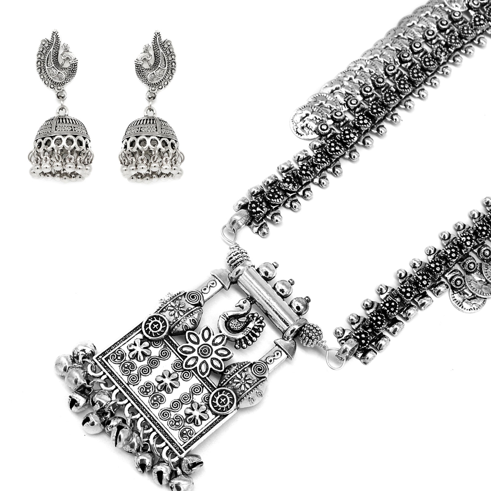 Teejh  Yarrow Saree & Jewelry Gift Set