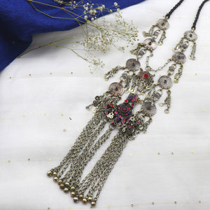 Teejh Pakizha Layered Afghani Chain Necklace