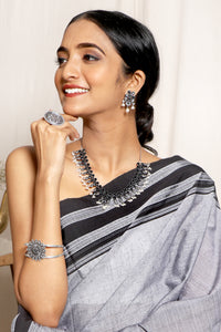 Teejh Love in the Mist Saree & Jewelry Gift Set