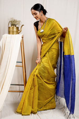 Teejh  Verbena Saree & Jewelry Gift Set