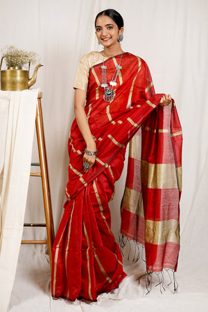Teejh Anu Aggarwal Saree & Jewelry Gift Set