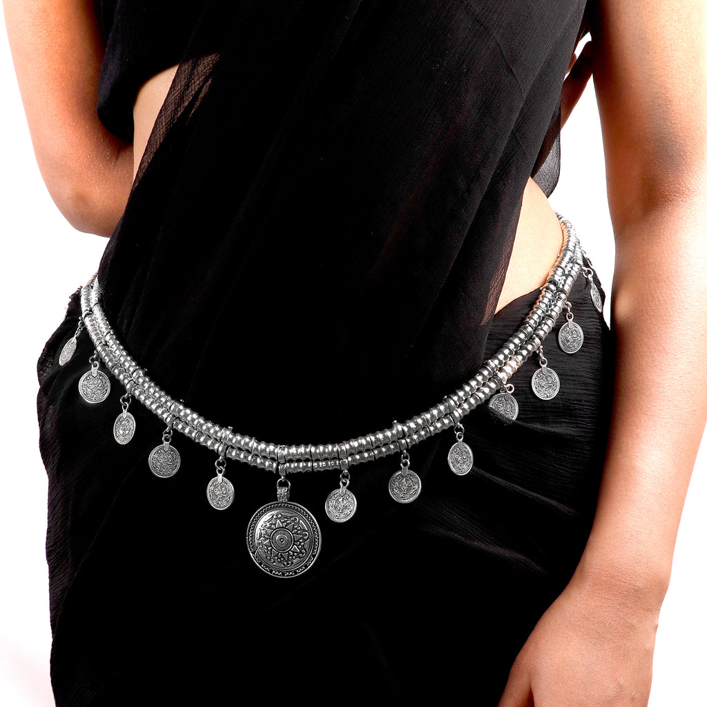 Jangly Coin Gradual Belly Chain - Teejh