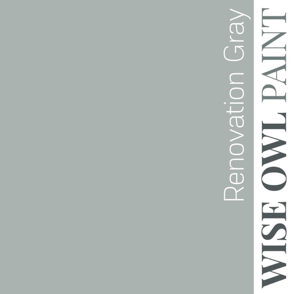 RENOVATION GRAY One Hour Enamel paint