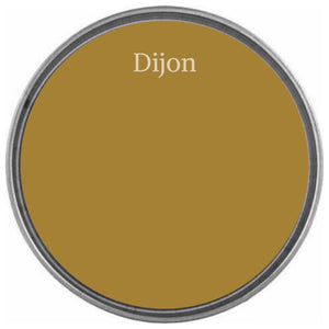 DIJON | Dirty Dark Mustard | Wise Owl Chalk Synthesis Paint