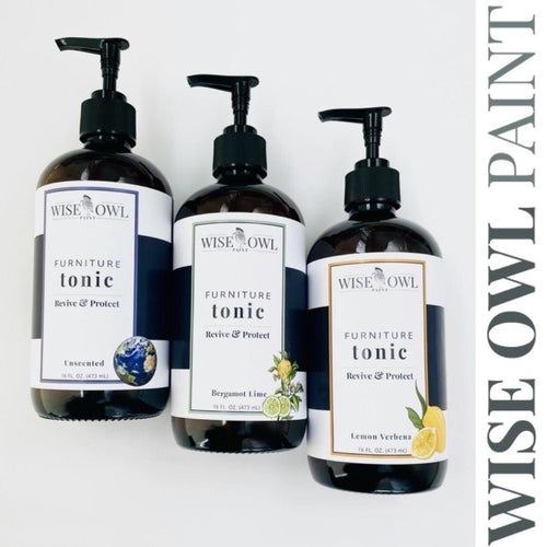 BERGAMOT & LIME | Wise Owl Furniture Tonic