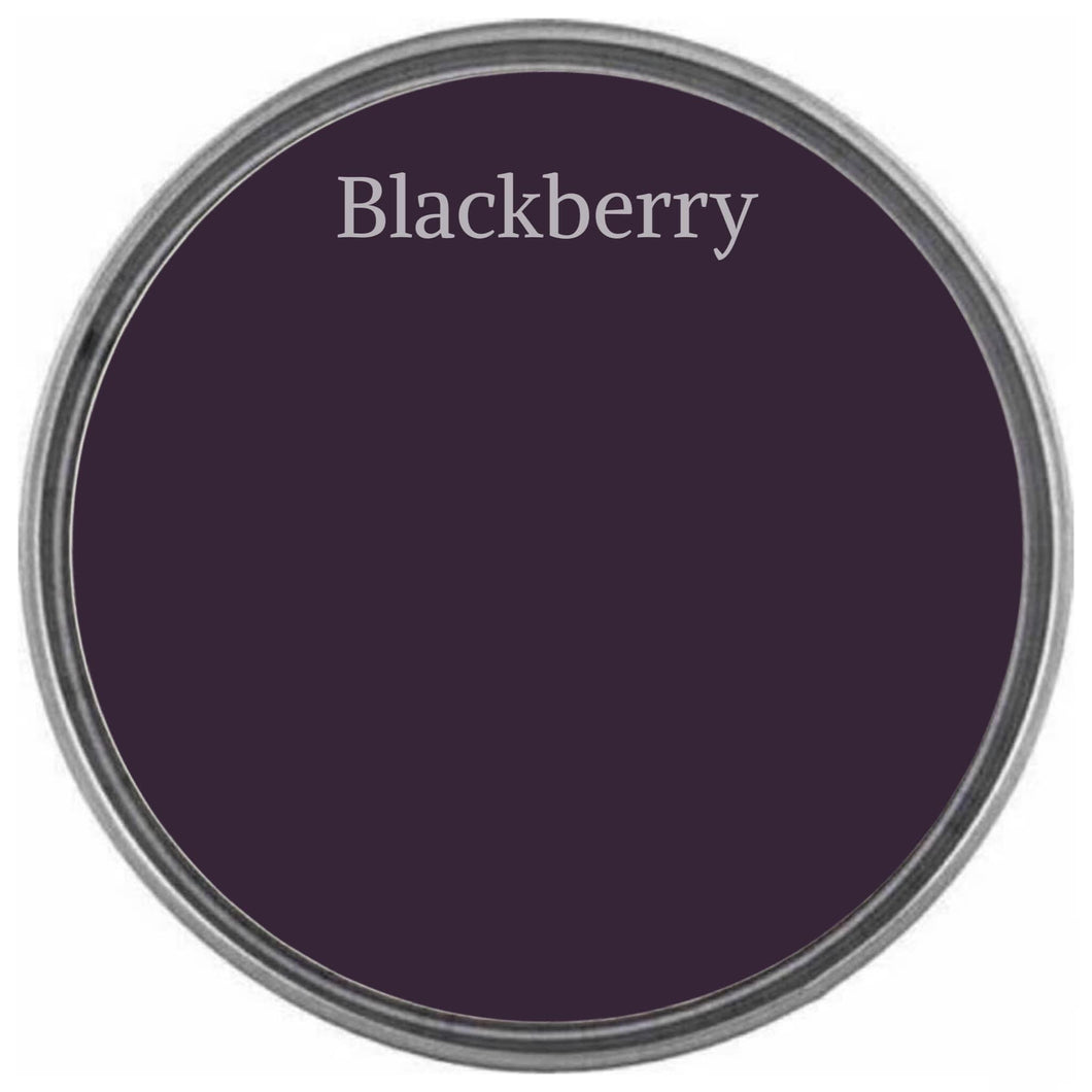 BLACKBERRY | Dark Royal Purple | Wise Owl Chalk Synthesis Paint