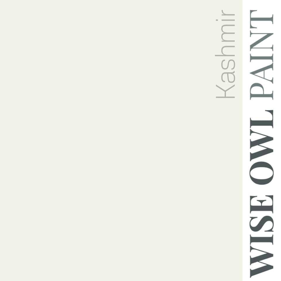 KASHMIR | Warm White | One Hour Enamel Paint | Wise Owl