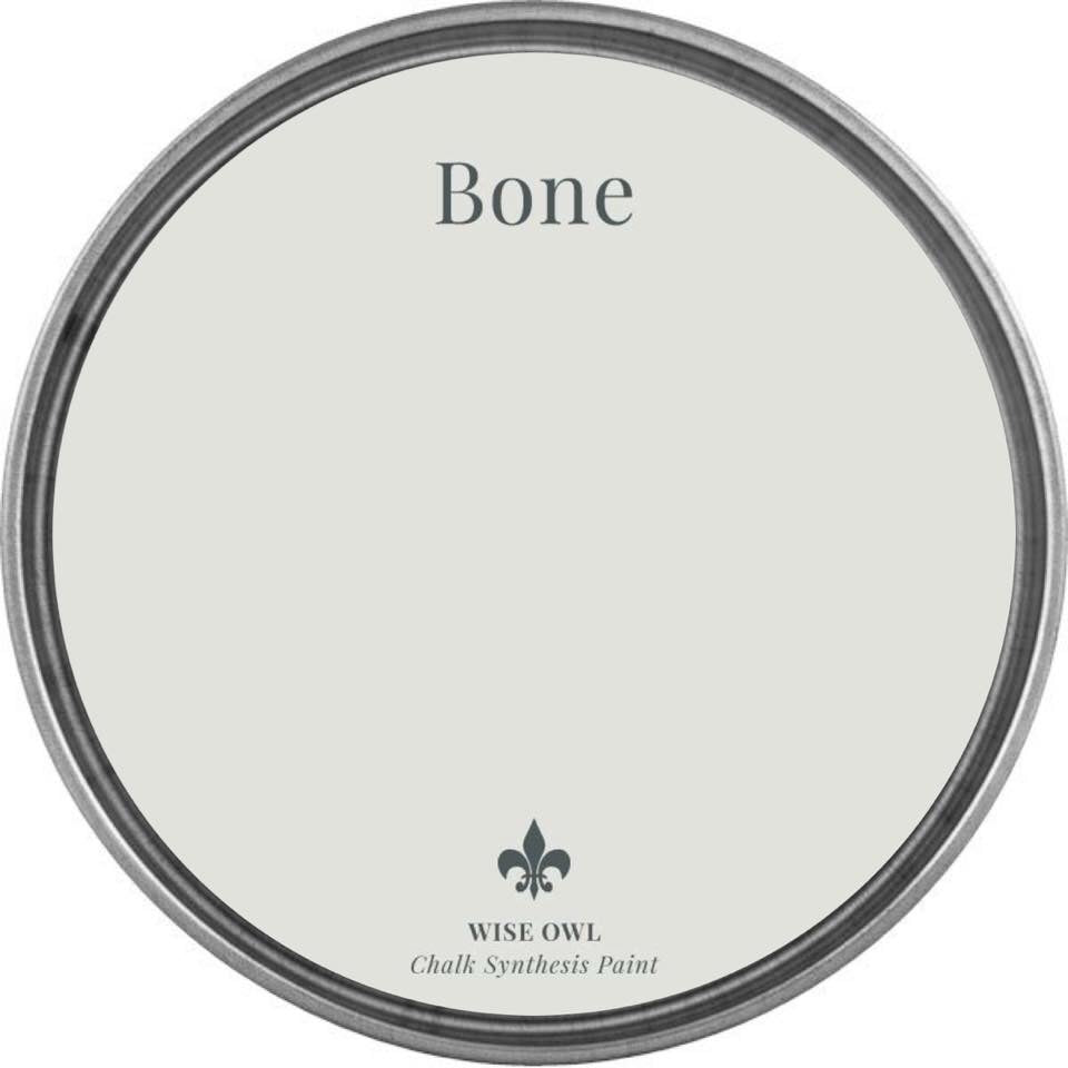 BONE | Palest Creamy Grey | Wise Owl Chalk Synthesis Paint