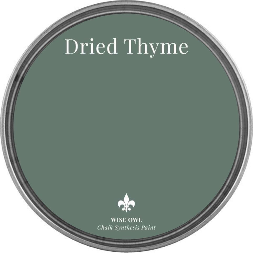 DRIED THYME | Soft Green | Wise Owl Chalk Synthesis Paint