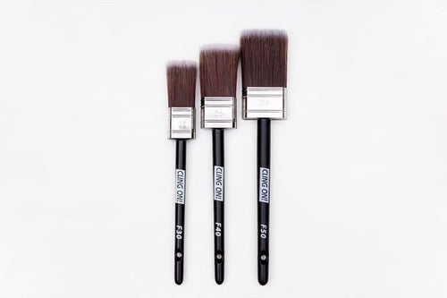 Paint Brushes | Cling On Brushes | Cling On Flat brushes