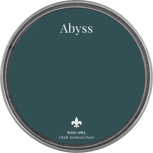 ABYSS | Blue/Green | Wise Owl Chalk Synthesis Paint