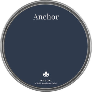 ANCHOR | Navy Blue | Wise Owl Chalk Synthesis Paint