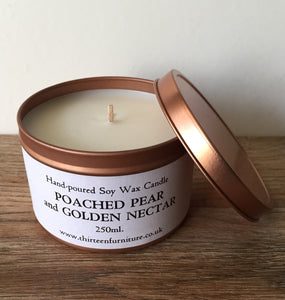 Poached Pear and Golden Nectar Candle