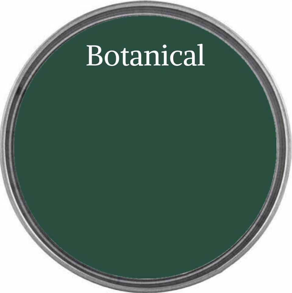 BOTANICAL | Tropical Foliage Green | Wise Owl Chalk Synthesis Paint