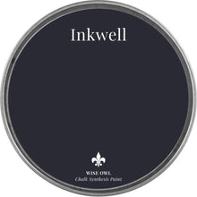 Load image into Gallery viewer, INKWELL | Dark Inky Navy Blue | Wise Owl Chalk Synthesis Paint
