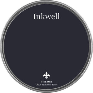 INKWELL | Dark Inky Navy Blue | Wise Owl Chalk Synthesis Paint