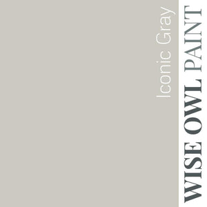 ICONIC GRAY | Light Grey | One Hour Enamel paint | Wise Owl