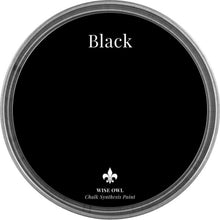 Load image into Gallery viewer, BLACK | Wise Owl Chalk Synthesis Paint