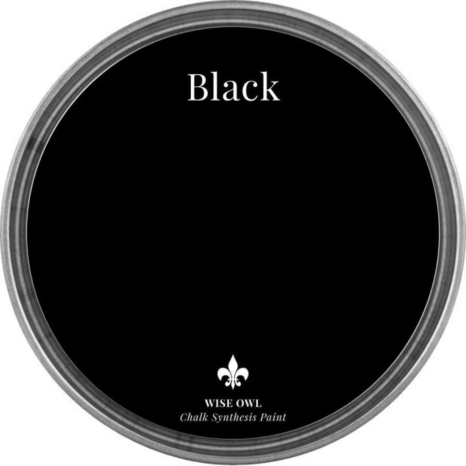 BLACK | Wise Owl Chalk Synthesis Paint