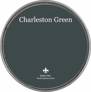 WISE OWL CHALK SYNTHESIS PAINT | CHARLESTON GREEN