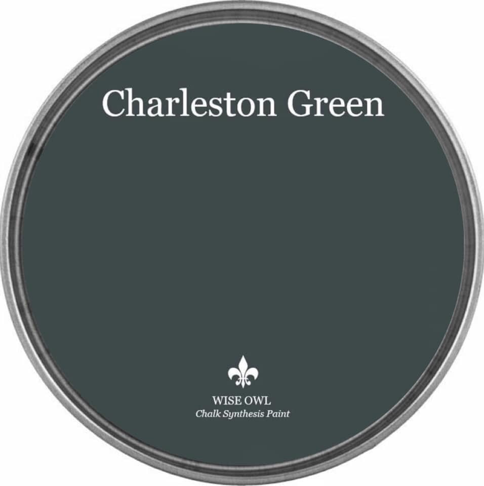 CHARLESTON GREEN | Darkest Green | Wise Owl Chalk Synthesis Paint