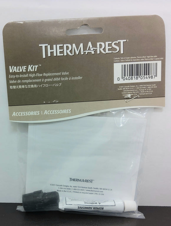 Thermarest Valve Repair Kit