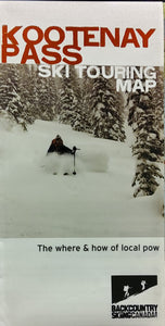 Kootenay Pass Ski Touring Map