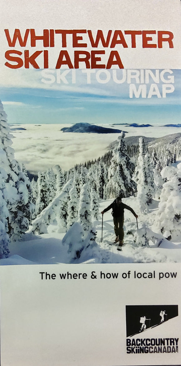 Whitewater Ski Area Ski Touring Map