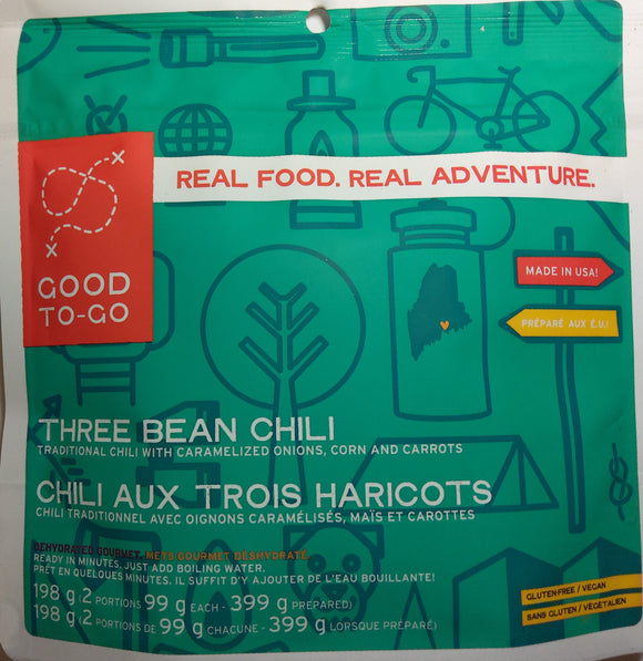 Good to-Go Three Bean Chili