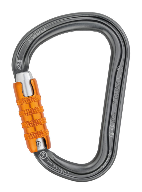 Petzl William H Frame Triact Locking Carabiner