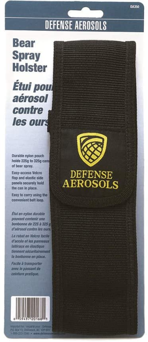 Defense Aerosols Bear Spray Holster