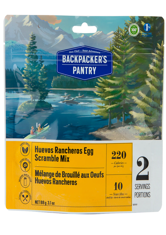 Backpacker's Pantry Huevos Rancheros Egg Scramble Mix