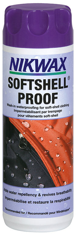 Nikwax Softshell Proof Washin 300ml