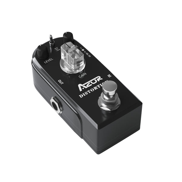 AZOR Distortion Guitar Effect Pedal 3 Modes True Bypass