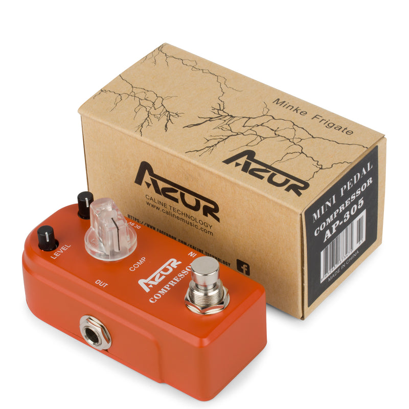 AZOR Compressor Mini Guitar Effect Pedal