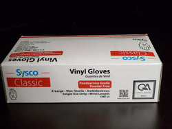 CLASSIC VINYL GLOVES - POWDER FREE