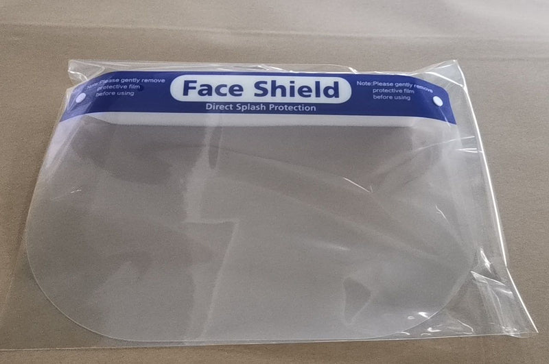 Isolated Face Shield