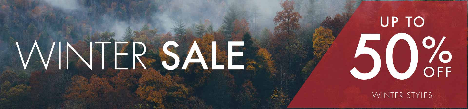 Winter Sale | up to 50% off winter styles