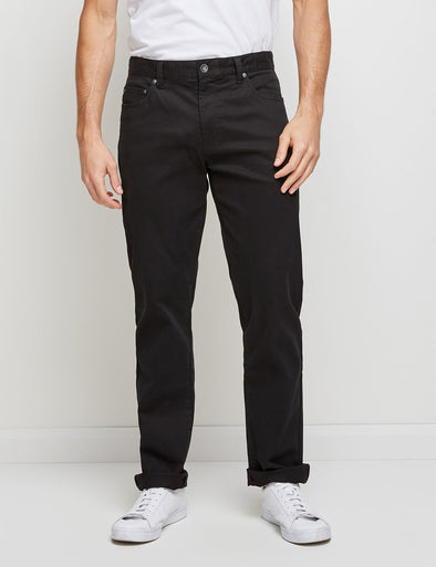 Stretch Rib Jean - Black
