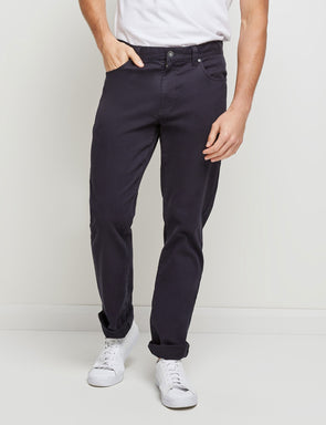 Stretch Rib Jean - Navy