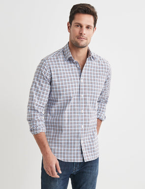 Gilbert Long Sleeve Check Shirt - Multi