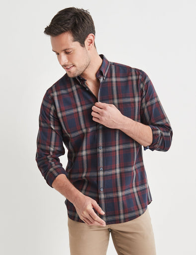 Hugo L/S Check Shirt Multi
