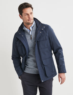 Ethan Outdoor Jacket - Navy