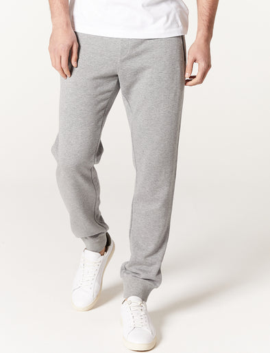 Anthony Track Pant - Grey Marle