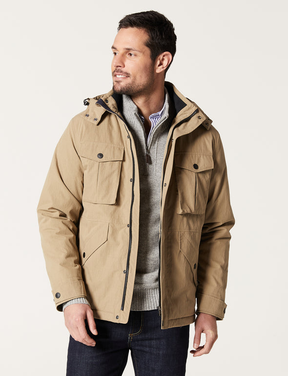 Nepean Outdoor Jacket - Taupe
