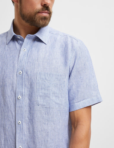 Edwin Short Sleeve Stripe Shirt